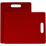 Architec Gripper Red Cutting Board, 11 x 14 Inch