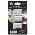Stainless Steel Tea Valets - Earl Grey, English Breakfast, Irish Breakfast