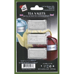 Stainless Steel Tea Valets - Green Tea, Black Tea, Herbal Tea
