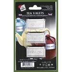 Stainless Steel Tea Valets - Assam, Darjeeling, Ceylon