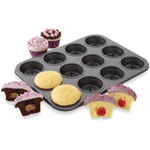 Chicago Metallic Nonstick Surprise Muffin Pan, 13.8 x 10.4 Inch