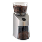 Capresso Infinity Brushed Silver Finish Conical Burr Coffee Grinder
