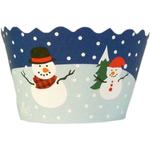 Bella Cupcake Couture Snowmen Cupcake Wrapper, Set of 12