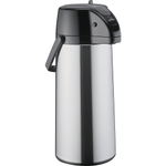 Zojirushi Airpot Stainless Steel Lever Brew Thru Coffee Server, 2.25 Liter