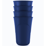 Preserve Eco Friendly 16 Ounce Everyday Cup in Midnight Blue, Set of 4