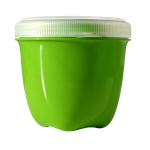 Preserve Apple Green Mini Round 8 Ounce Single Storage Container