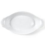 Omniware White Porcelain Au Gratin Dish, 12.75 Inch