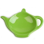 Omniware Citron Ceramic Tea Caddy and Infuser Holder