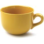 OmniWare Teaz Cafe Gold Stoneware 24 Ounce Jumbo Mug