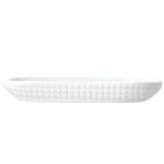 Omniware White Porcelain Corn Dish