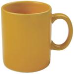 OmniWare Teaz Cafe Gold Stoneware 11 Ounce Classic Coffee Mug