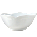 Omniware Classic White Porcelain Small Lotus Bowl