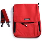 Messermeister Red 6 Pocket Knife Storage Messenger Bag