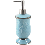 Saturday Knight LTD Seafoam Blue Ceramic Soap Dispenser