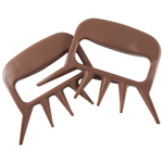 Camerons Brown Man Claw, Set of 2