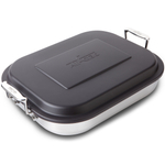 All-Clad 18/10 Stainless Steel Lasagna Pan with Lid, 14.5 Inch