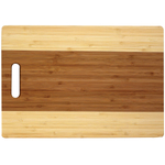 Helen Chen Two-Tone Bamboo Cutting Board, 10 x 15 Inch