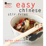 Helen Chen's Easy Chinese Stir-Fries Hardcover Cookbook