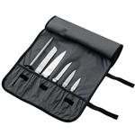 Mercer Cutlery Black Nylon Heavy Duty 7 Pocket Knife Roll