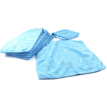 Blue Microfiber Cleaning Cloth, Set of 12