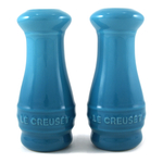 Le Creuset Caribbean Stoneware Salt and Pepper Shaker Set