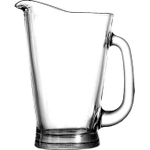 Anchor Hocking Glass Beer Wagon Pitcher with Handle, 55 Ounce