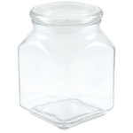 Anchor Hocking Glass Emma 52 Ounce Jar with Cover