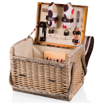 Picnic Time Moka Collection Kabrio Botanica Picnic Basket