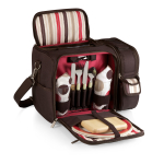 Picnic Time Moka Collection Malibu Botanica Picnic Pack