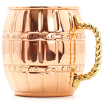 Old Dutch 16 Ounce Solid Copper Barrel Mule Mug