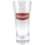 Schmidt Beer Flared Pilsner Glass Officially Licensed, Set of 4