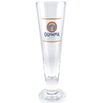 Olympia Beer Tall Pilsner Glass Officially Licensed, Set of 2