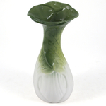 Gourmet Home Collection Ceramic Bok Choy Asian Cabbage Vase
