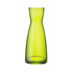 Bormioli Rocco Ypsilon Lime Green Glass Jug, 18.5 Ounce