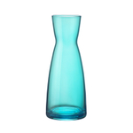 Bormioli Rocco Ypsilon Sky Blue Glass Jug, 18.5 Ounce