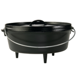 Lodge Logic Camp Dutch Oven, 6 Quart