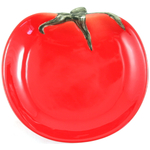 Red Tomato Gourmet Home Collection Ceramic Appetizer Plate
