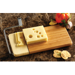 Prodyne Cheese Slicer with Bamboo Slicing Board