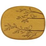 Talisman Designs Nature Bird Beechwood Cheese Board