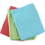 Iron Chef America Flour Sack Towel in Assorted Bright Colors, Set of 3