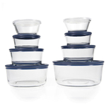 Anchor Hocking Glass 16 Piece Storage Container Set