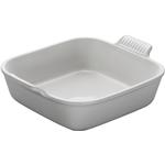 Le Creuset Heritage White Stoneware 8 Inch Square Baking Dish