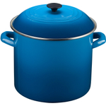Le Creuset Marseille Blue Enamel on Steel 16 Quart Stockpot