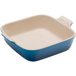 Le Creuset Heritage Marseille Blue Stoneware 9 Inch Square Baking Dish