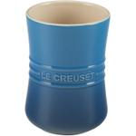 Le Creuset Marseille Blue Stoneware Utensil Crock, 1 Quart
