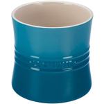 Le Creuset Marseille Blue Stoneware Utensil Crock, 2.75 Quart