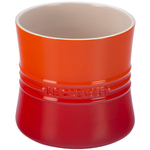 Le Creuset Flame Stoneware Utensil Crock, 2.75 Quart