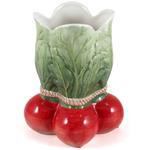 Gourmet Home Collection Ceramic Radish Vase