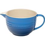 Le Creuset Marseille Blue Stoneware Batter Bowl, 2 Quart