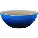 Le Creuset Medium Marseille Blue Stoneware Multi Bowl, 1.7 Quart